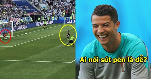 """Chê bai Ronaldo chỉ biết """"ăn hôi"""" pen, nhưng nhìn lại lịch sử sút phạt đền của Messi ai cũng phải ngỡ ngàng"""