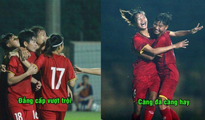 H ủy d iệt đội bóng Đông Nam Á với tỉ số không tưởng, Việt Nam hiên ngang giành ngôi đầu bảng giải châu Á