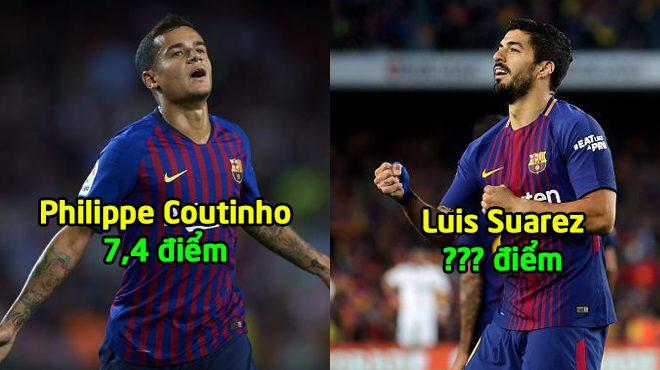 Chấm điểm Barca sau chiến thắng hủy di.ệt trước Real: Tất cả ngả mũ trước siêu nhân Suarez