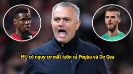 Chấn động MU: 2 siêu cò đưa Pogba và De Gea đào tẩu đến PSG