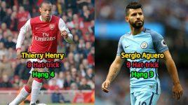 """Top 10 cầu thủ được phong là """"Thánh Hattrick"""" của Premier League: Vĩ đại là thế nhưng Ronaldo vẫn không có cửa để góp mặt"""