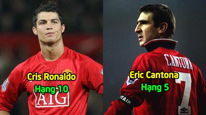 10 danh thủ MU xuất xắc nhất mọi thời đại: Ronaldo chỉ thứ 10, ai mới là số 1?