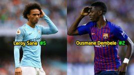 Top 5 cầu thủ chạy cánh hàng đầu châu Âu ở lứa tuổi U23: Số 1 đủ sức cạnh tranh QBV với cả Ronaldo và Messi
