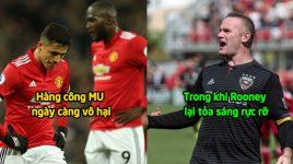 Rooney tiếp tục khiến giải nhà nghề Mỹ phát cuồng với siêu phẩm sút phạt từ khoảng cách 32m