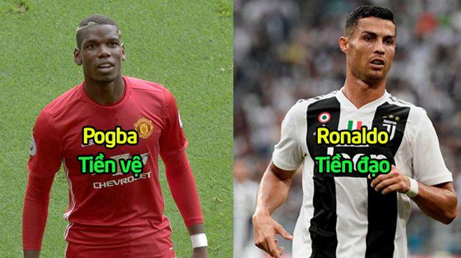 """Đội hình """"cực chất"""" kết hợp giữa đại chiến MU vs Juventus: Quỷ đỏ hoàn toàn lép vế trước Lão Bà"""