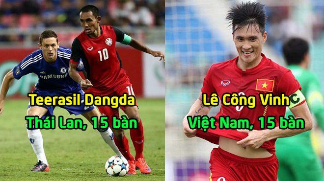 Top 6 chấn sút vĩ đại nhất lịch sử AFF Cup: Quá tự hào khi Việt Nam góp mặt tới 2 cái tên