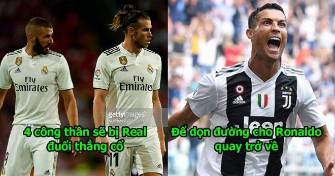 Đuổi Modric và 4 công thần, chủ tịch Real tuyên bố sẽ đưa Ronaldo trở lại , fan Real mở tiệc ăn mừng đi thôi