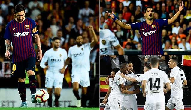 Một mình Messi gồng ghánh toàn đội, Barca vẫn không thể bắn hạ bầy dơi, chính thức đánh mất ngôi đầu La Liga