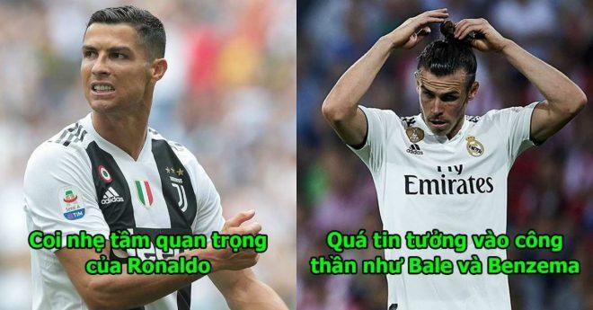 5 lý do không thể chối cãi khiến vương triều Real Madrid sụp đổ khi vắng bóng ông hoàng Ronaldo