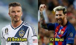 Top 8 siêu sao có lượng Fan k.h.ủ.n.g nhất thế giới: Messi trên vạn người nhưng vẫn ngậm ngùi xếp sau 1 người