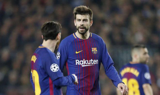 """Pique: """"Messi bị chấn thương cũng không ảnh hưởng đến Barcelona"""""""