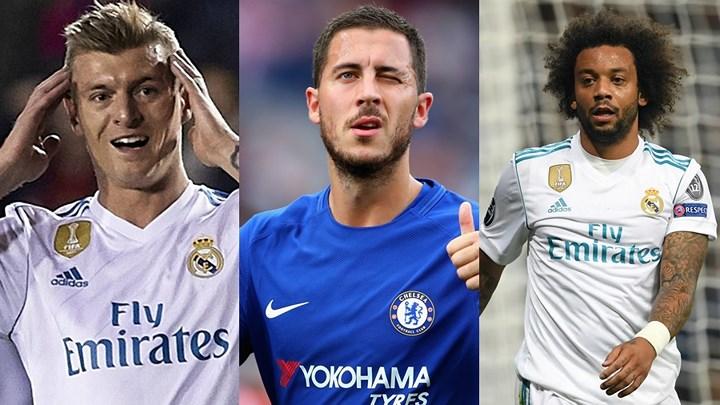 Cận cảnh đội hình siêu tấn công của Real nếu chiêu mộ thành công Hazard: Tam tấu B-B-H cuốn phăng mọi hàng thủ