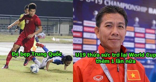 Dạy cho Trung Quốc 1 bài học nhớ đời về bóng đá, U19 VN khiến cả châu Á run sợ vì chơi quá hay