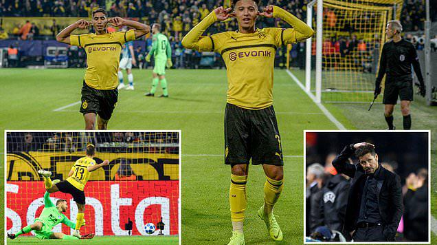 Kết quả Dortmund vs Atletico Madrid: Kinh hoàng 15 phút cuối