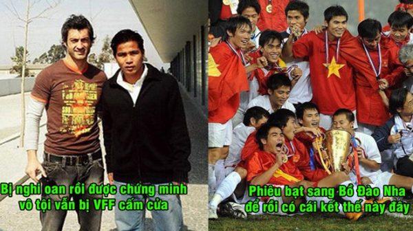 Bị cấm cửa ở V-League quá oan ức phải dạt sang tận Bồ Đào Nha, số phận của cầu thủ này cuối cùng lại khiến cả triệu người ngưỡng mộ