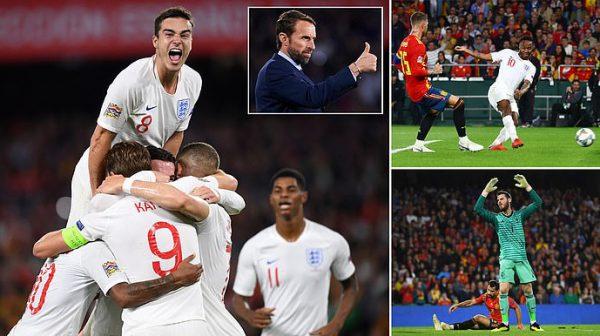 Kết quả Tây Ban Nha vs Anh: Choáng váng nhập cuộc, bừng tỉnh muộn màng