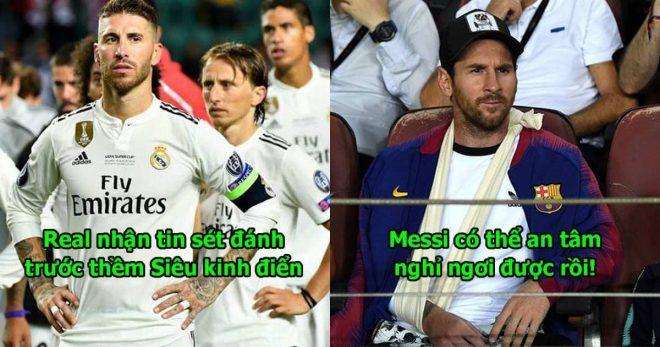 Kháng án bất thành, b.o.m tấn của Real bị cấm đá trận Siêu kinh điển, Barca coi như nắm chắc phần thắng rồi