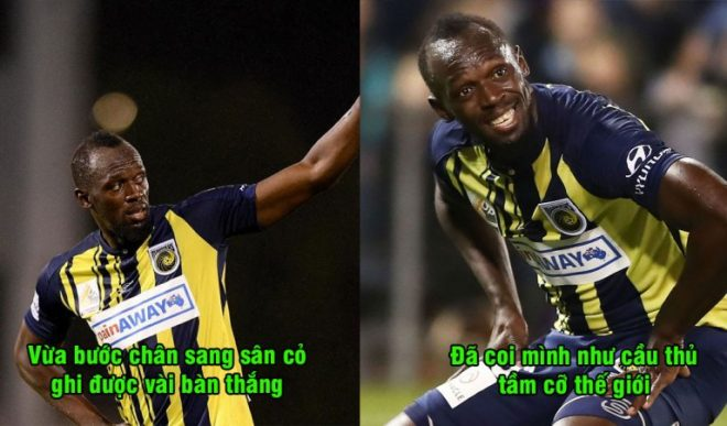 Vừa chân ướt chân ráo bước sang sân cỏ, Usain Bolt đã đưa ra yêu sách khiến ngay cả đại gia lớn như MU cũng phải ngao ngán