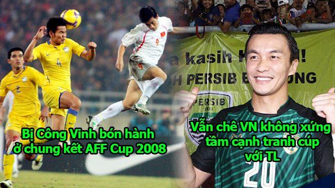 Thủ môn Thái Lan bị Công Vinh hạ nhục tại chung kết AFF Cup 2008 không coi Việt Nam là đối thủ xứng tầm