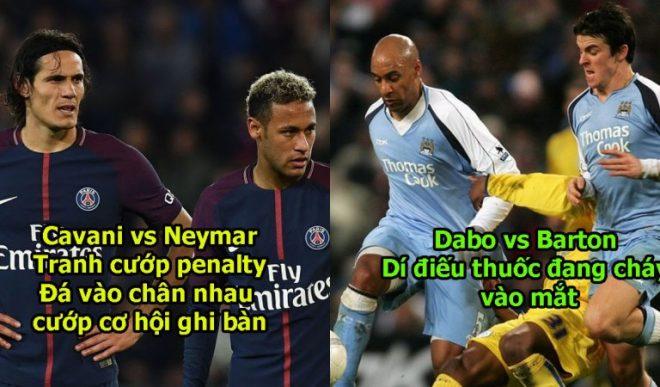 10 cặp đồng đội chung 1 màu áo mà căm ghét nhau hơn kẻ thù: Neymar-Cavani chưa là gì với cặp số 5