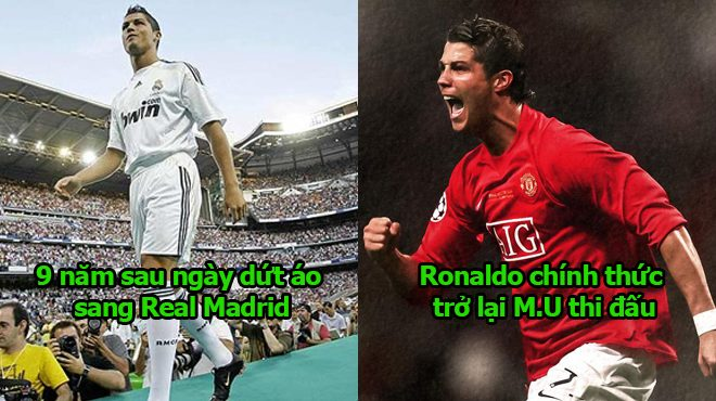 Trở lại mái nhà MU sau 9 năm bôn ba ở Real, Ronaldo phát biểu 1 câu khiến tất cả vỡ òa sung sướng