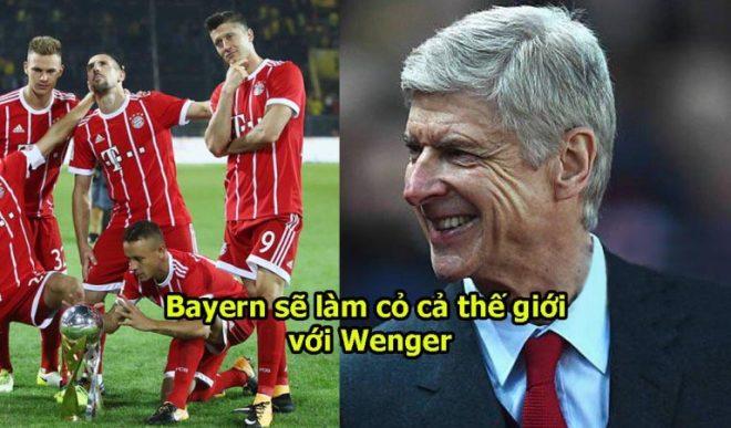 Chính thức: Chú tư Arsene Wenge làm HLV Bayern Munich, quyết tâm dạy cho cả thế giới 1 bài học vì tội khinh thường