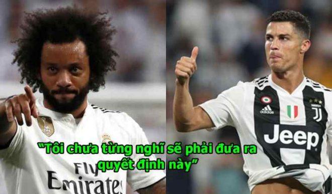 Marcelo chính thức lên tiếng chốt thương vụ chuyển đến Juve tái hợp Ronaldo, mọi chuyện đến đây là kết thúc rồi!