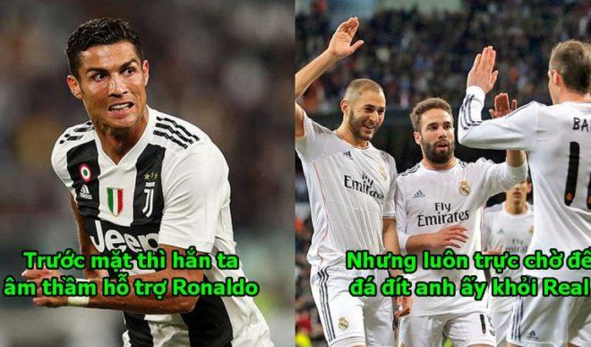 """Hé lộ thâm cung bí sử Real: """"Cậu ta rất vui khi Ronaldo ra đi, nghĩ mình có thể thay thế anh ấy làm ông chủ tại Real Madrid"""""""
