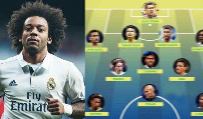 Sắp chia tay Real, Marcelo công bố đội hình trong mơ mạnh vô đối của mình: Messi còn chưa đủ tuổi góp mặt