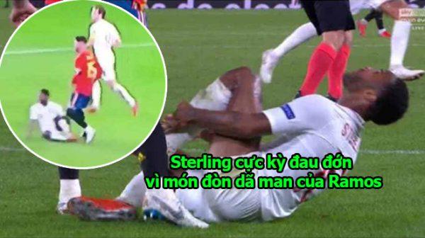 Sau Salah, Ramos khiến cả thế giới tức phát điên vì tr iệt hạ Sterling như côn đồ, cần phải loại bỏ ngay ra khỏi bóng đá thôi
