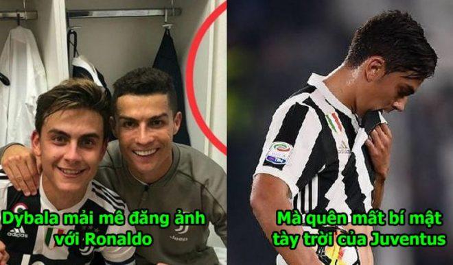 Khoe ảnh chụp thân thiết cùng Ronaldo, Dybala vô tình để lộ bí mật tày đình khiến Juventus điêu đứng