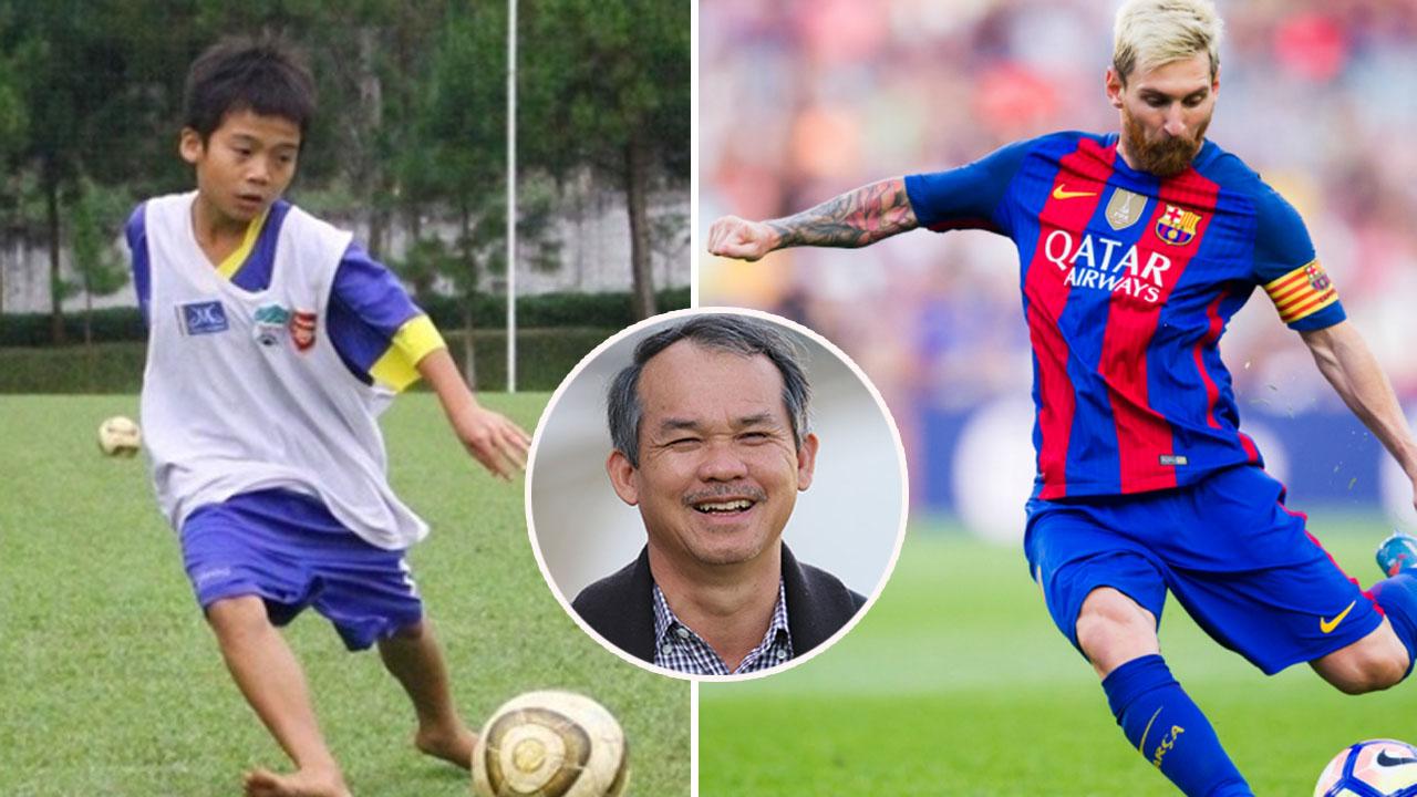 Việt Nam sắp có thần đồng bóng đá mới: Đi bóng như Messi, ghi bàn như Ronaldo