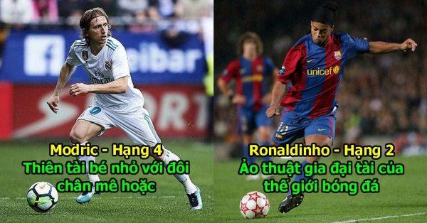 10 dị nhân có lối đá ĐẸP MẮT và hiệu quả nhất: Phù thủy Ronaldinho còn phải cúi đầu trước đàn em này cơ mà