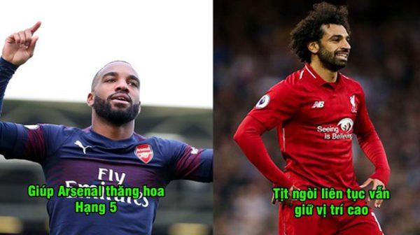 BXH 10 cầu thủ xuất sắc nhất Ngoại hạng Anh mùa này: Vị trí số 1 bỏ quá xa phần còn lại