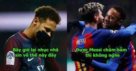 Chìm nghỉm bởi hào quang của Mbappe, Neymar cúi mình van xin trở lại Barca khiến cả thế giới cười vào mặt