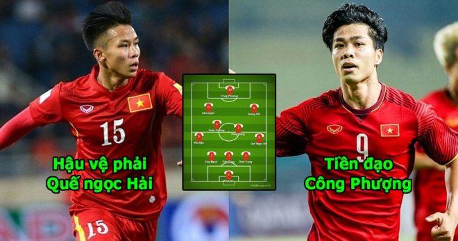 Kết thúc 12 ngày tập huấn, thầy Park quyết định đây sẽ là đội hình tối ưu làm gỏi cả Đông Nam Á ở AFF Cup