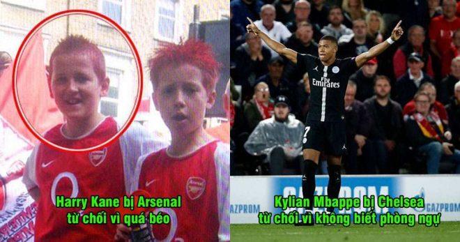 5 siêu sao từng bị từ chối chiêu mộ với lý do như trò hề: Nhìn Ronaldo, Arsenal chỉ biết khóc thầm