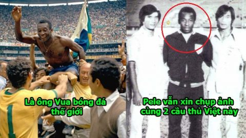 Huyền thoại Pele từng 'ôm vai bá cổ' xin chụp ảnh cùng 2 danh thủ Việt này, BĐVN từng có thời đỉnh cao như thế đó