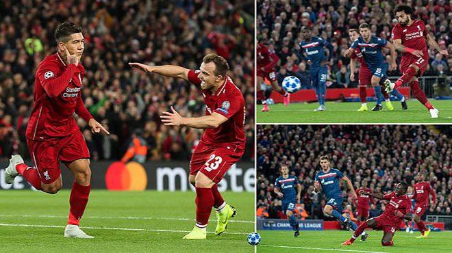 Tam tấu S-F-M đồng loạt khai hỏa, Liverpool giành kết quả không tưởng trước nhược tiểu Crvena Zvezda
