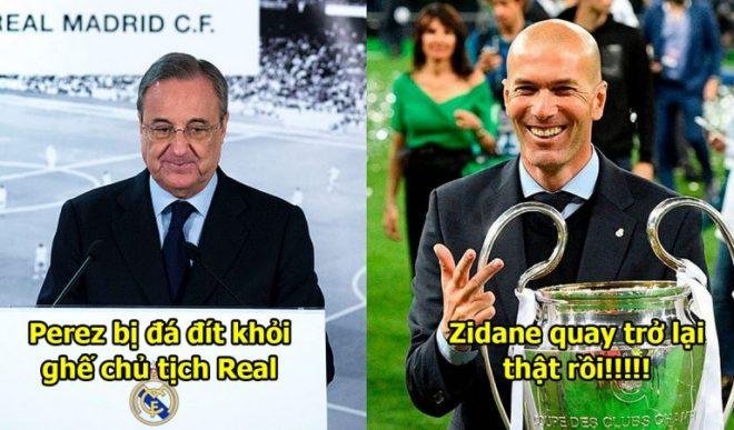 Thật 100%! Zidane xác nhận sẽ quay trở lại dẫn dắt Real Madrid quyết tìm lại hào quang đã m ấ t
