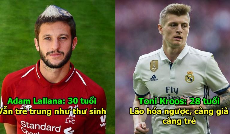 """Top 10 cầu thủ """"trẻ mãi không già"""" trong làng bóng đá, ai cũng tá hỏa khi phát hiện ra tuổi thật"""