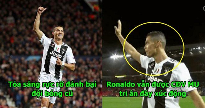 Nhấn chìm Old Trafford, Ronaldo vẫn được CĐV MU tri ân đầy xúc động, đúng là dù có đi đâu đây vẫn mãi là nhà anh