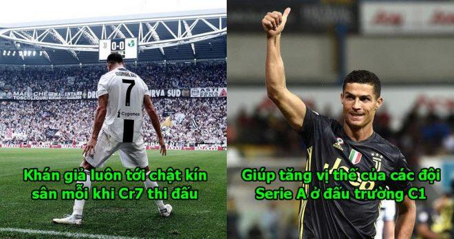 Tuổi 33 Ronaldo vẫn 1 tay kéo Serie A hồi sinh sau cả thập kỷ chìm nghỉm, còn ai dám nói anh hết thời nữa đây