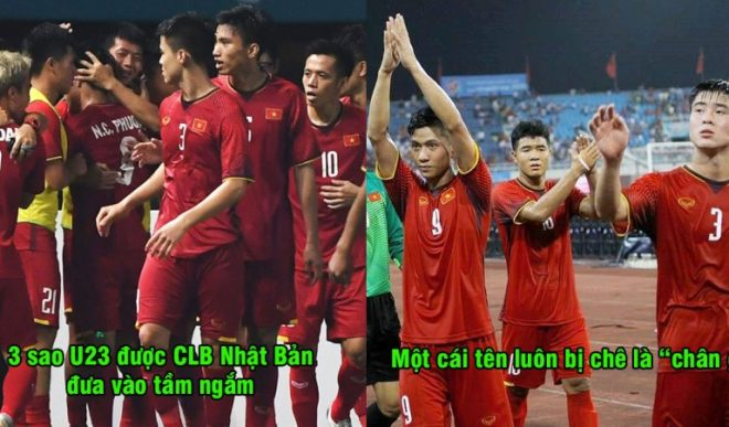 3 sao U23 Việt Nam vào tầm ngắm của CLB Nhật Bản, có một cái tên luôn bị chê là chân gỗ