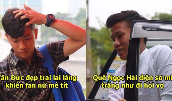Chùm ảnh: ĐT Việt Nam tươi rói lên tuyển hội quân, nhìn đến Văn Toàn ai cũng trầm trồ vì guu ăn mặc quá chất