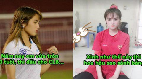 Xinh đẹp đến mức các hoa hậu cũng phải nể phục, nữ cầu thủ Việt Nam khiến tất cả phát cuồng tìm facebook
