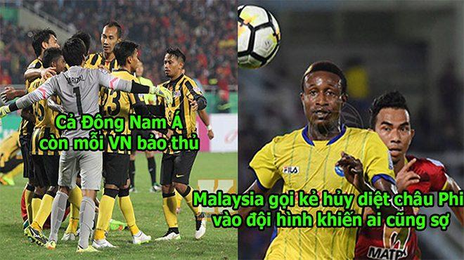 Quyết làm chúa tể Đông Nam Á, Malaysia gọi cầu thủ nhập tịch đá Aff Cup, chỉ còn Việt Nam là không có cầu thủ nhập tịch