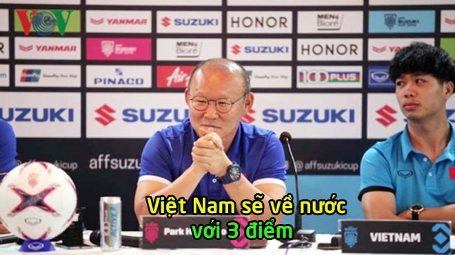 """HLV Park Hang Seo: """"Myanmar rất mạnh nhưng vẫn không phải là đối thủ của chúng ta"""""""
