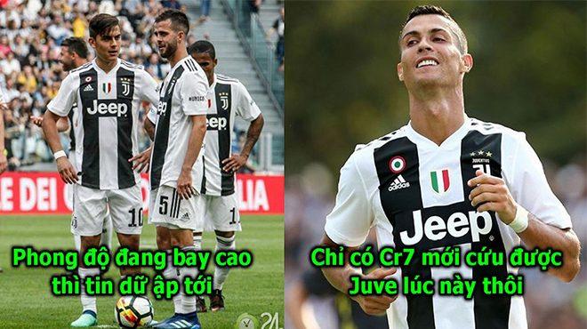 Juventus nhận tin sét đánh trước trận chiến sinh tử với MU, tất cả hi vọng lại đặt vào Ronaldo rồi