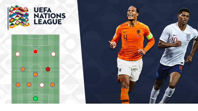 Đội hình siêu k.h.ủ.n.g kết hợp giữa 4 ĐTQG lọt vào bán kết UEFA Nations League: Sự trở lại của cơn lốc màu da cam